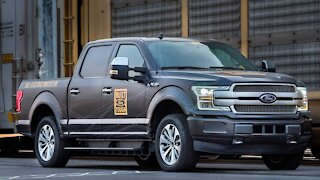 Ford's Electric Truck Will Be Built For Towing, Hauling