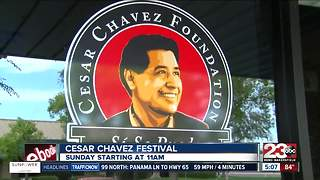 The Cesar Chavez Festival will celebrate community and unity this Sunday - Video