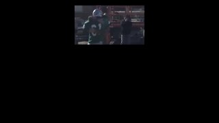 Returning Soldier Surprises Brother Before Football Game - Video