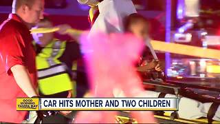 Mother, two children hit by car on S. Dale Mabry Highway - Video