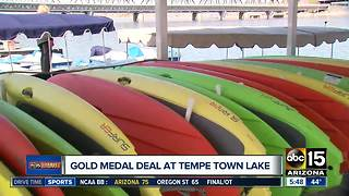 Get a great deal on boating at Tempe Town Lake - Video