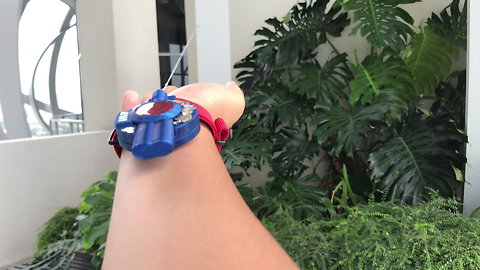 Spider-man inspired multi-functional web shooter really works!
