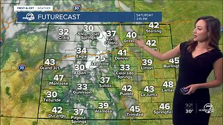Cooler Saturday, with more mountain snow tonight