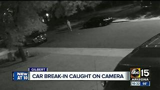 Thieves get away with stolen property in Gilbert neighborhood - Video