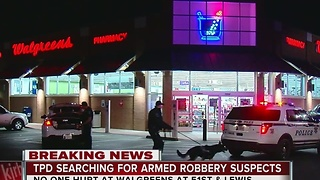 TPD Searching for Armed Robbery Suspects - Video