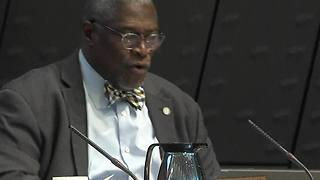 Mayor Sly James remarks at first 2017 Board of KCPD Commissioners meeting - Video