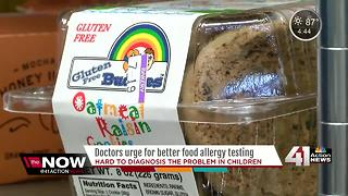 Report: Food allergies too difficult to diagnose - Video