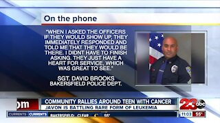BPD helps a local boy in his fight against cancer