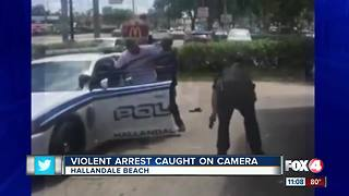 Violent police arrest caught on camera - Video