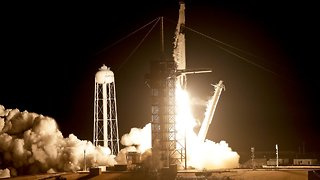 Blast Off! SpaceX, NASA Launch Crew Dragon On Flight To ISS