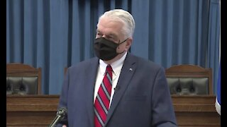 Sisolak responds to reporter's question
