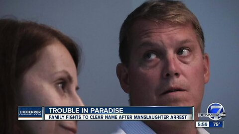 Trouble in paradise: Family fights to clear name after manslaughter arrest
