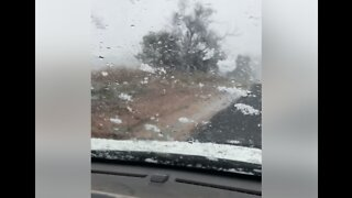 Snow Makes for Hazardous Driving in New South Wales