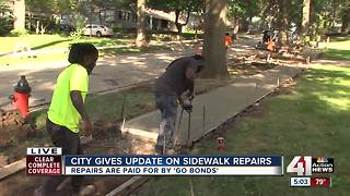 KCMO provides update on GO Bond sidewalk repairs