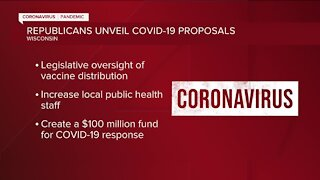 Wisconsin Republicans announce proposals to address COVID-19 pandemic