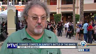 SunFest Battle of the Bands Winner Announced - Video