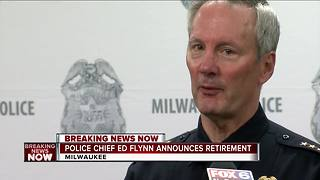 Milwaukee Police Chief Edward Flynn to retire after 10 years - Video