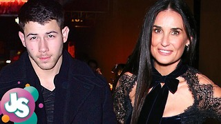 25 Year Old Nick Jonas HOOKING UP with 55 Year Old Demi Moore; Hot or NOT? JS