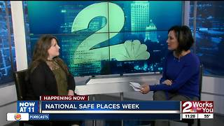 National Safe Place Week: Youth Services of Tulsa helping ages 12-17 - Video