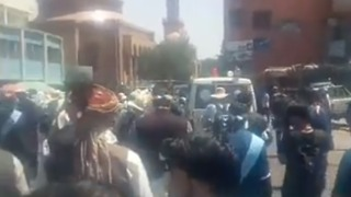Peace Activists Arrive in Kabul After Walking Over 400 Miles - Video