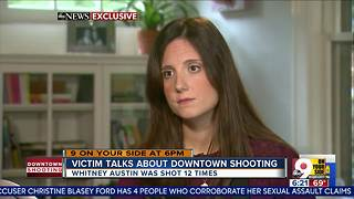 Shooting victim talks about ordeal