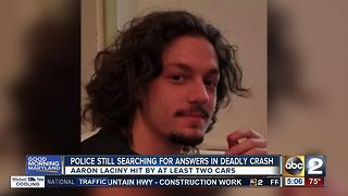 Police still searching for answers in deadly cyclist crash - Video