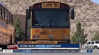 CCSD still needs 63 more school bus drivers