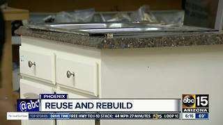 Valley home items being salvaged for discounts - Video