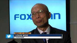 Foxconn official on why Wisconsin was their pick