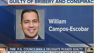 Former Prince George's County delegate pleads guilty to bribery - Video