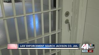 Officials search Jackson County jail for contraband after tip from staff - Video
