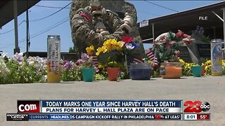 Anniversary of the passing of iconic former Mayor Harvey Hall