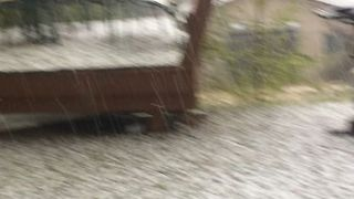 Marble-Sized Hail Pounds Durango - Video