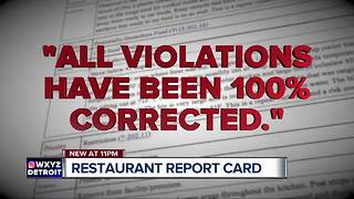 Looking at the report card inspectors give 3 Wayne County restaurants - Video
