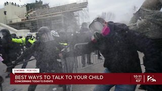 How to talk to your child about current events on TV