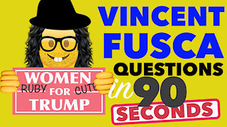 Vincent Fusca JFK Jr Link? Why is it Relevant? Asking Tough Questions in 90 SECONDS