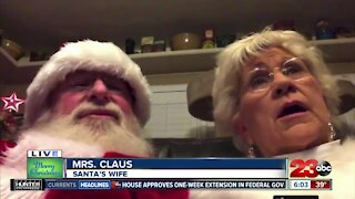 Santa Claus joins 23ABC this morning
