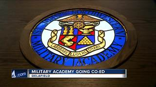 Waukesha County renowned all-boys military academy St. John's to become co-ed - Video