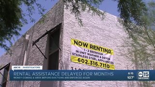 Rental assistance money delayed for months