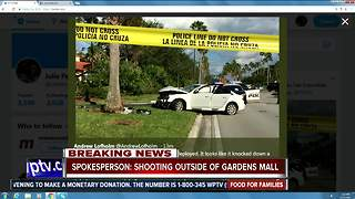 Heavy police presence at The Gardens Mall - Video