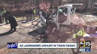 Arizona Republicans OK after train crash in West Virginia - Video