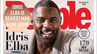 PEOPLE finally gets it right & names Idris Elba Sexiest Man Alive