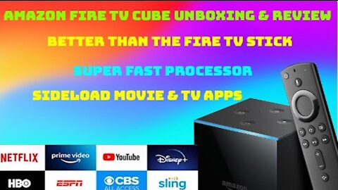 Amazon Fire TV Cube unboxing & review