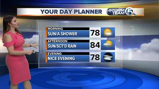Wednesday midmorning forecast - Video