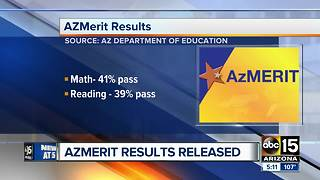 AZMerit test scores released - Video