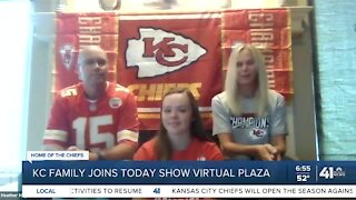 KC family joins TODAY show virtual plaza