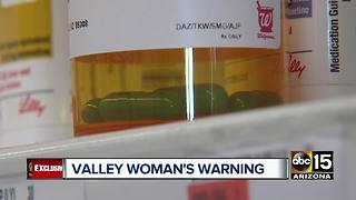 UTI antibiotic caused painful side effects for Valley woman - Video