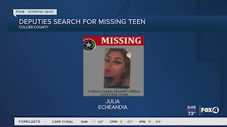 Missing teen in Collier County