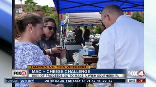 Mac and cheese challenge this weekend