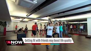 Ask Dr. Nandi: Getting fit with friends may boost life quality - Video